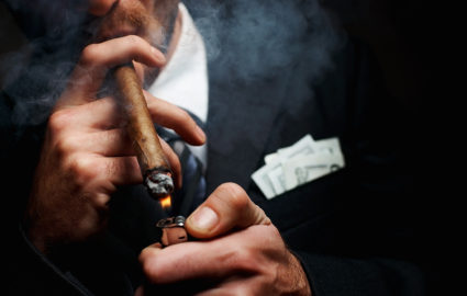 Light a Cigar