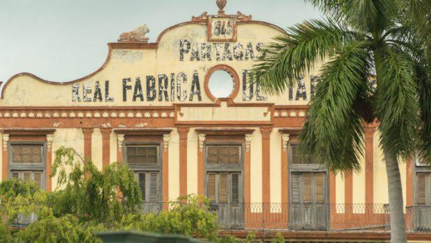 Cuban Partagas Cigars Factory