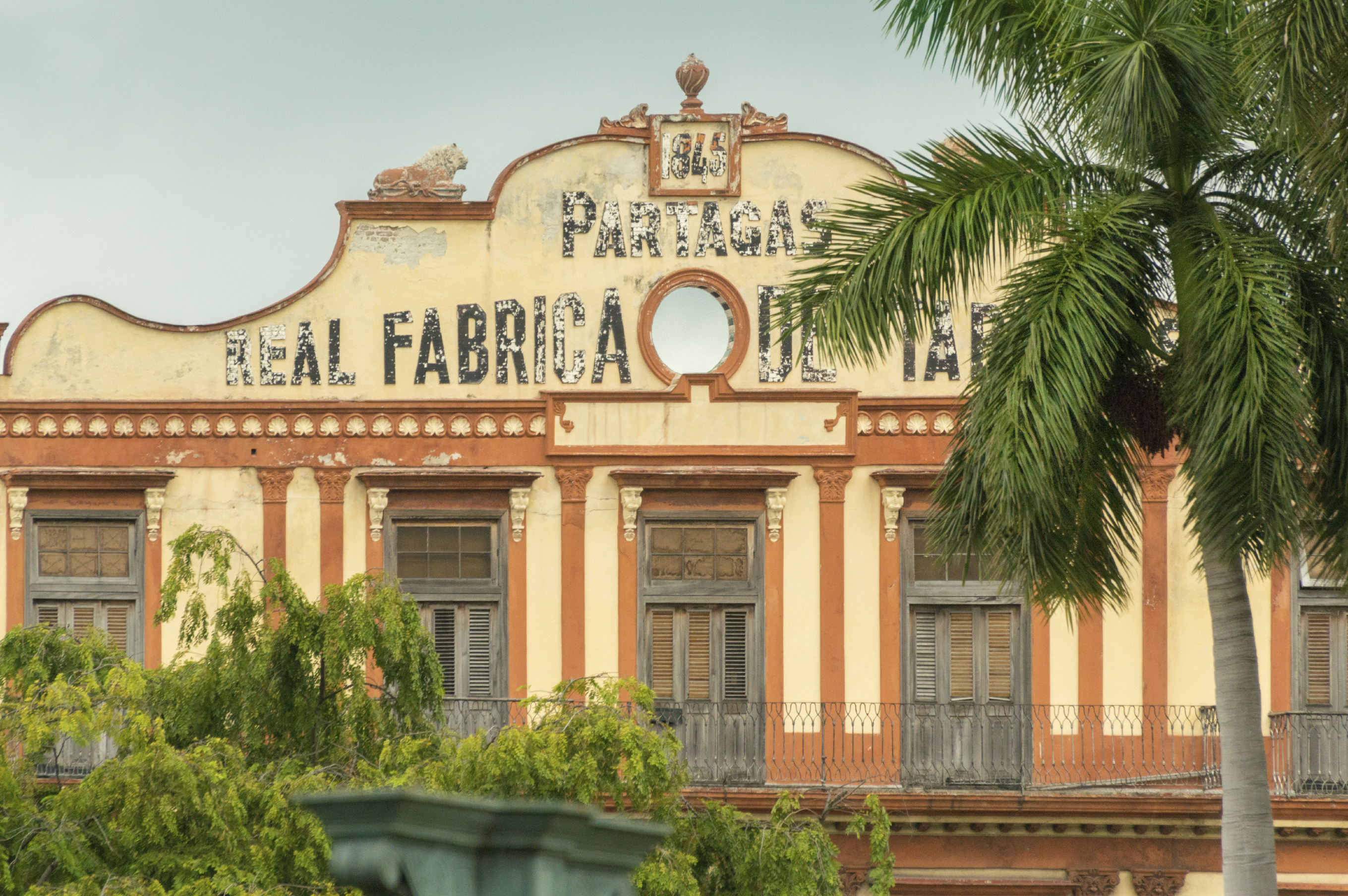 Cuban Partagas Cigars Factory