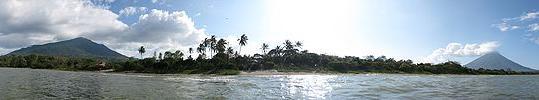 Ometepe Island Lake Nicaragua