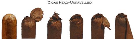 structure of a cigar cap